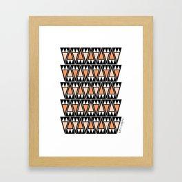Sand Arrowheads  Framed Art Print