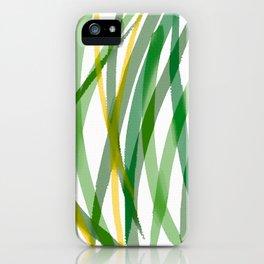 Spring Grass iPhone Case