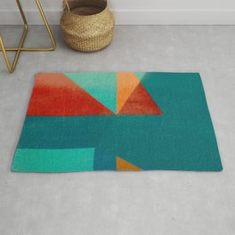 Sailing in River Mouth Rug