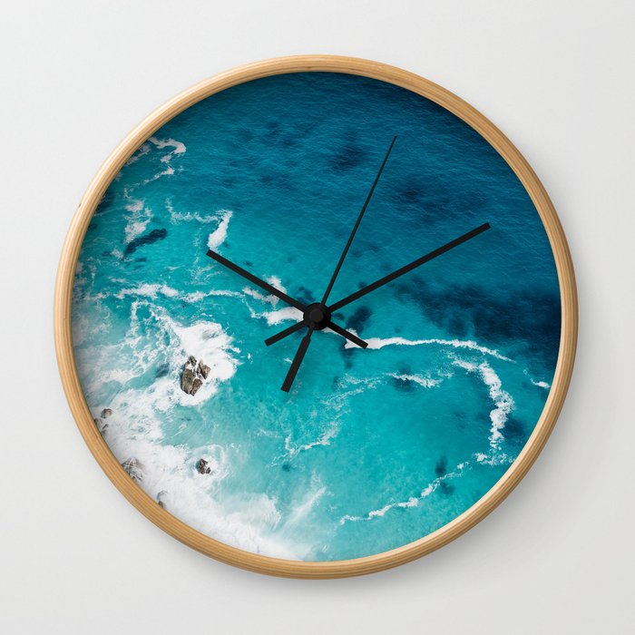 Sea 4 Wall Clock