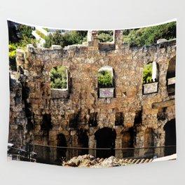Greek Ruins Wall Tapestry