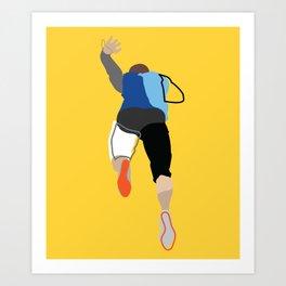 Runner B Art Print