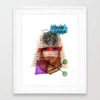 barbie Framed Art Prints featuring Barbie by benjamin chaubard