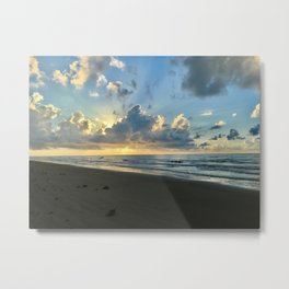 Sunset at SurfSide Metal Print