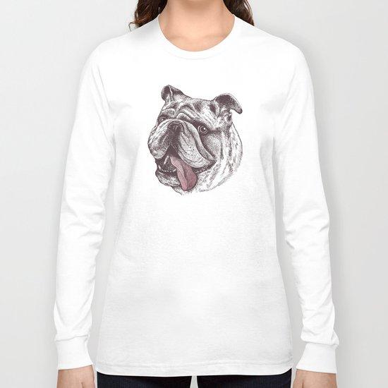 Bulldog King Long Sleeve T-shirt