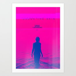 A MOVIE POSTER A DAY: UNDER THE SKIN Art Print