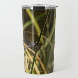 Dragonfly in the marsh Travel Mug