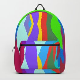 Colored patterns Backpack
