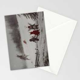 no gifts this year Stationery Cards