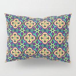 Colorful Morocan Tile Pattern Pillow Sham