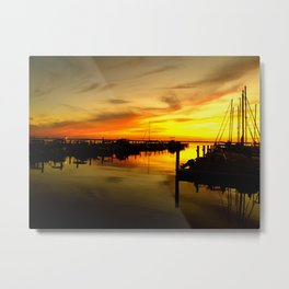 sailor sunset Metal Print