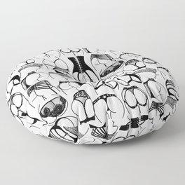 Lingerie Butts Floor Pillow