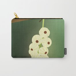 Green Blooming Gooseberries Carry-All Pouch