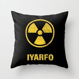 IYARFO CAUTION Throw Pillow