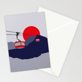 Lantau Island Cable Cars Stationery Cards