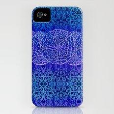 Tribal Batik Blues Slim Case iPhone (4, 4s)