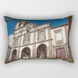 Portuguese church Rectangular Pillow