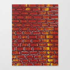 Up against the wall Canvas Print