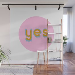 Yes 01 Wall Mural