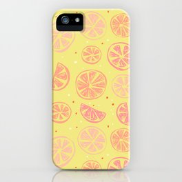Paloma Grapefruit iPhone Case