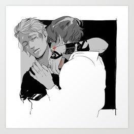 Vampirism Art Print