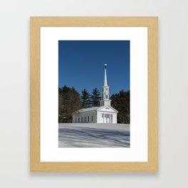 Martha-Mary Chapel Framed Art Print