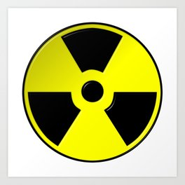 Nuclear Symbol Art Print