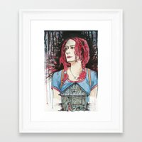 eternal sunshine of the spotless mind Framed Art Prints featuring Eternal Sunshine of the Spotless Mind by Charlie Thomason