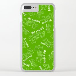 Yer A Wizard Harry Clear iPhone Case