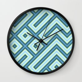 Square Truchets in MWY 01 Wall Clock