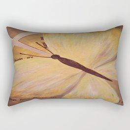 Butterfly Cross Easter Rectangular Pillow