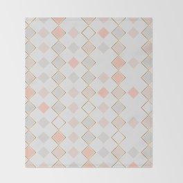 Pattern Rose Throw Blanket