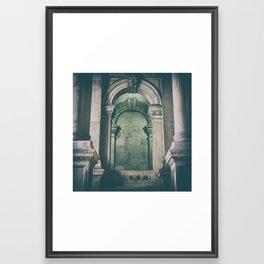 City Hall Arches Framed Art Print