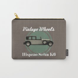 Vintage Wheels - Hispano Suiza K6 Carry-All Pouch