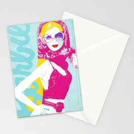 Vacation Barbie (blonde) Stationery Cards