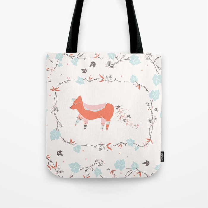 fox & grapes Tote Bag