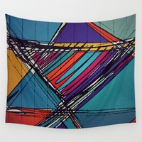 urban Wall Tapestries featuring Urban by Julia Tomova