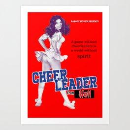 cheerleaders from hell Art Print
