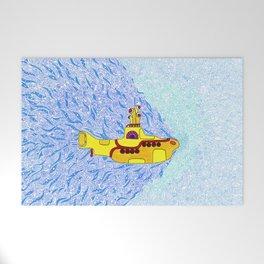 My Yellow Submarine Welcome Mat