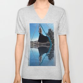 Stepping Out Unisex V-Neck