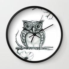 Fictional Owl Wall Clock