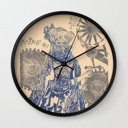 Ada, Countess Lovelace, Enchantress of Numbers Wall Clock