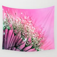 christ Wall Tapestries featuring Diamond Dew by 2sweet4words Designs