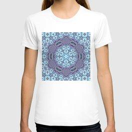 Modern Traditional Lacey Mandala T-shirt