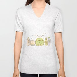 Shampooing Demonstration Unisex V-Neck