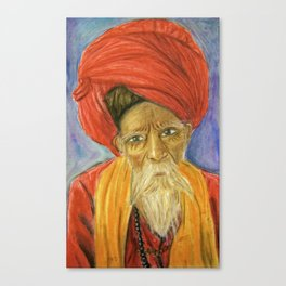 wise man says Canvas Print