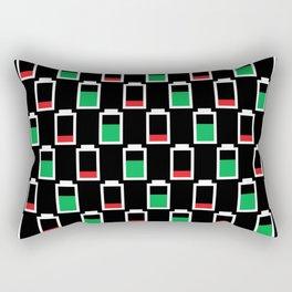 Power Up Positive Rectangular Pillow