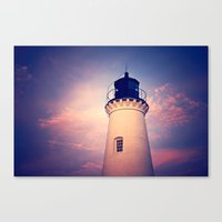 lighthouse Canvas Prints featuring Lighthouse by JMcCool