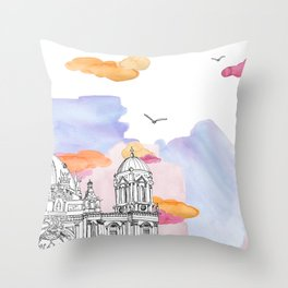 Berlin Cathedral (Berliner Dom) daytime. Throw Pillow