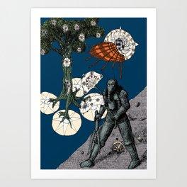 Decaying Wonderland IX Art Print